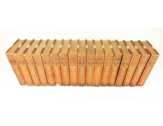 1903 Life Works of Guy de Maupassant, 1st complete English edition. 17 volumes.