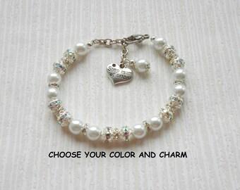 Step mum of bride, wedding, bridesmaid, bridal party, bridesmaid gift, bridesmaid jewelry, bride, bridal, bride jewelry, bridal bracelet