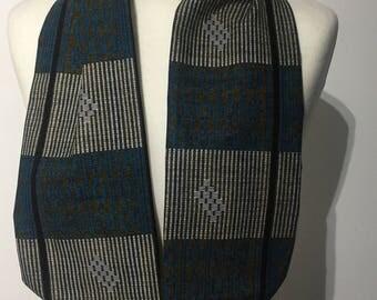African print scarf, African print head tie, wax print accessories