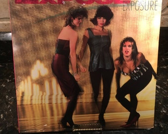 "Expose ""Exposure"" Sealed New NOS Vintage - Debut 1980's Record LP - Free Shipping!"