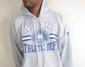 Indiana Athletic Dept. Hooded Sweatshirt