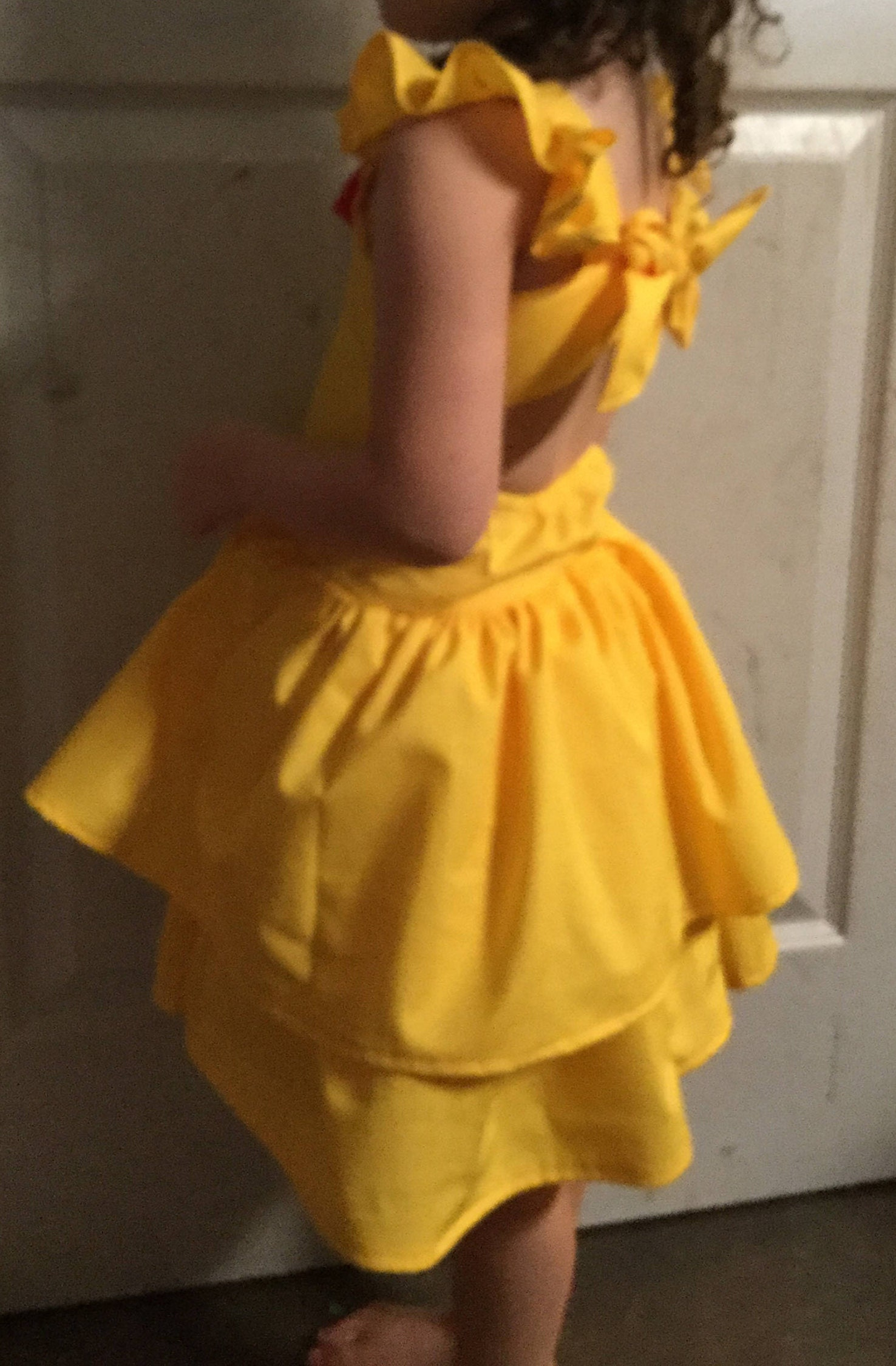 Belle dress beauty and the beast belle costume handmade belle & Belle dress beauty and the beast belle costume handmade belle ...