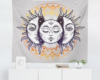 Sun Tapestry | Sun Wall Tapestry | Sun Wall Décor | Sun Gift | Sun Wall
