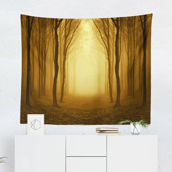 Surreal Tapestry Autumn Wall Tapestry Fall Wall Décor