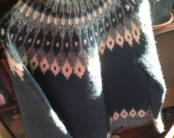 Nordic Handmade Wool Sweater