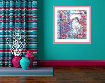 Original Canvas Painting, Abstract Acrylic Painting, Home Decor, Wall Decor, Modern Home Decor, Original Acrylic Canvas Art, Housewarming