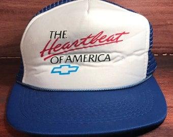 Chevrolet Heartbeat Of America Snapback Hat