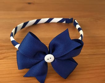 School Spririt Headband - your custom colors
