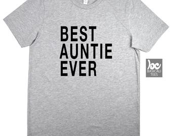 Aunt Shirt , Auntie Shirt , Best Auntie Shirt , Unisex T-Shirt , Aunt Gift , Auntie Gifts , I Love My Auntie , Sister Gift , Gift For Her ,