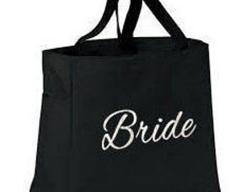 Bridesmaid Tote Bags Set of 4 - Bridesmaid Totes - Bridesmaid Gifts - Personalized Totes - Personalized Tote Bags - Simply Name It - Totes