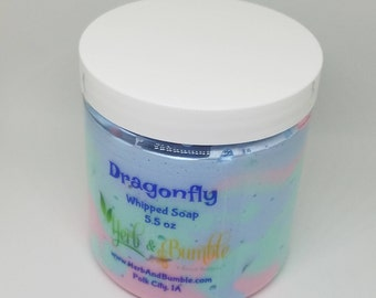 Dragonfly Whipped Soap; Whipped Soap; Shaving Soap; Soft Soap
