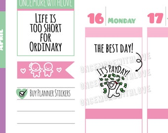 Munchkins - Payday Planner Stickers (M11)