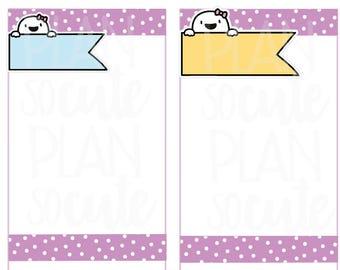 Fingie flags, Planner Stickers -069