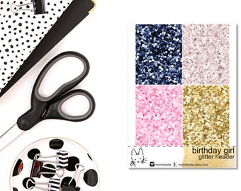 Birthday Girl - ADD-ON Glitter - for your ECLP