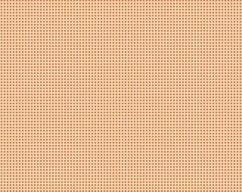 Spooktacular - Distressed Dot Orange - by Maude Assbury - 100% Premium Cotton Fabric (Blend Fabrics  101.107.03.1)