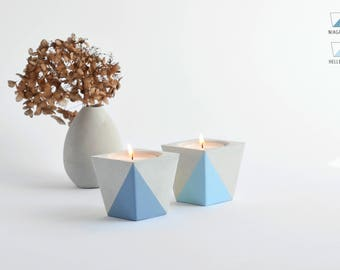 Tea light holder from Beton_BLUE