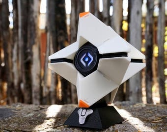 Custom Ghost Life Size Replica Prop Custom Colors with LED Light 3D Printed Display Stand Included