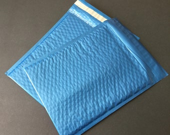 20 8.5 x 12 Steel Blue  Bubble Mailers Size 2 Self Sealing Shipping Envelopes