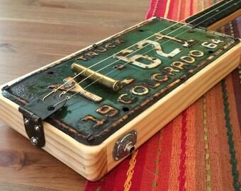 Colorado LP 3-string fretless slide guitar, (2017-29)
