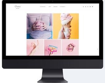 Oana | Responsive Premade Blogger Template + Free Installation