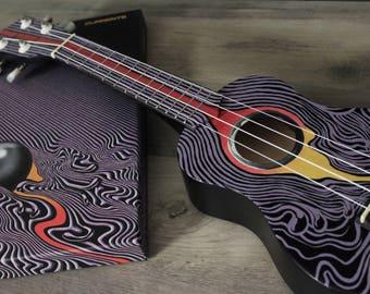 Custom Hand Painted Soprano Ukulele