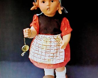 Sweet All Original Vintage German Goebel Hummel Doll