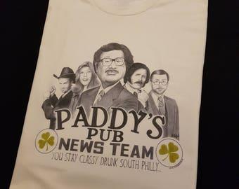 Paddy's Pub News Team T-Shirt