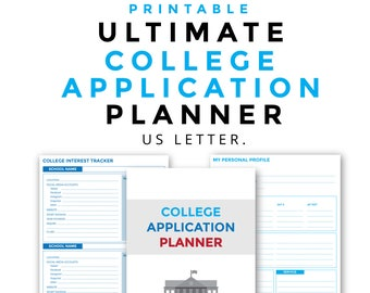 printable college application