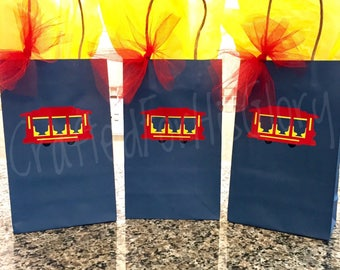 Daniel Tiger Birthday Party Favor Gift Bags - Set of 6