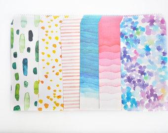 Watercolour Paint Envelope Set, Letter Envelopes - LT025