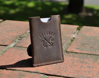 Leather Card Wallet,Leather Card Holder,Leather Business Card Case,Card Holder