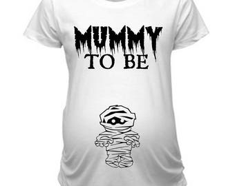 Mummy To Be Halloween Pregnancy Announcement Shirt, Pregnant Halloween Shirt, Mummy To Be Shirt, Cute Halloween Pregnancy Shirt, Mummy Tee