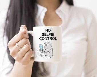 coffee mug - funny mug - novelty mug - coffee cup - funny mugs - coffee gifts - novelty gifts, Mugs, Funny Gifts, Sloth, Cups, Funny Gifts