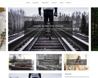 Aspect - WordPress Blog Theme - Minimal WordPress theme - Responsive WordPress theme - Website template