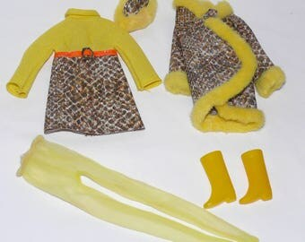 Vintage Barbie Francie #1245 Snake Charmers Outfit Complete