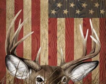 Deer Buck Flag Grass Camo Cornhole Wrap Bag Toss Decal Baggo Skin Sticker Wraps