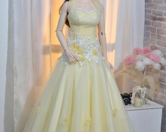 Long Tulle Prom Dress for Iplehouse SID, EID BJD