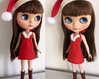 Doll Christmas Santa Hat Pattern Craft E-book Instant Download PDF Tutorial Pictures Cute Hat Doll Pattern