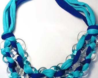 EIGHT - Blue and Turquoise Necklace