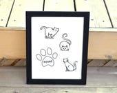 Cat Art, Squad, Cat Lover...