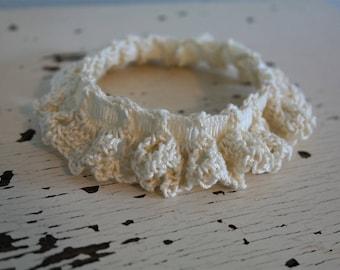 Ivory Bridal Garter - Small