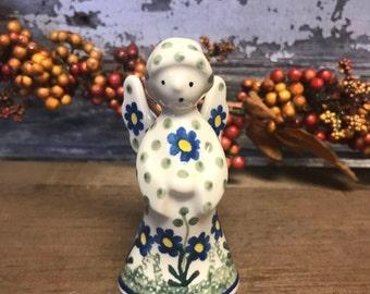 Polish Pottery Angel