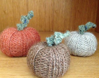 Pumpkins - DIY Knitting Pattern