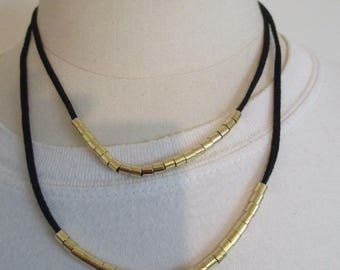fancy gold plated necklace