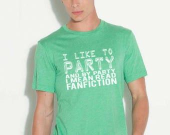Fan Fiction shirt Fanboy shirt Professional fanboy shirt fangirl shirt professional fangirl shirt Fictional characters tee Weeb tee
