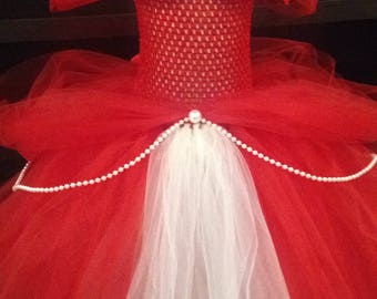 girl tutu dress size 4/5/6 years