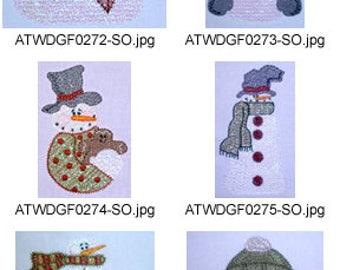 Mylar-Winter-Daze ( 9 Machine Embroidery Designs from ATW )XYZ17K