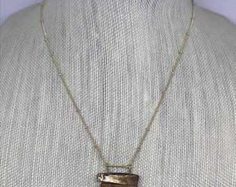 3 Shell Pendant Necklace | Chain Necklace | Layering Necklace | Natural Jewelry | Natural Necklace | Shell Jewelry | Delicate Gold Chain |