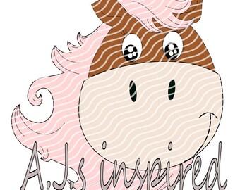 Sash, das Pferd- Plotterdatei by A.J.s inspired