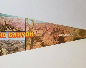 Grand Canyon, Arizona - Vintage Pennant